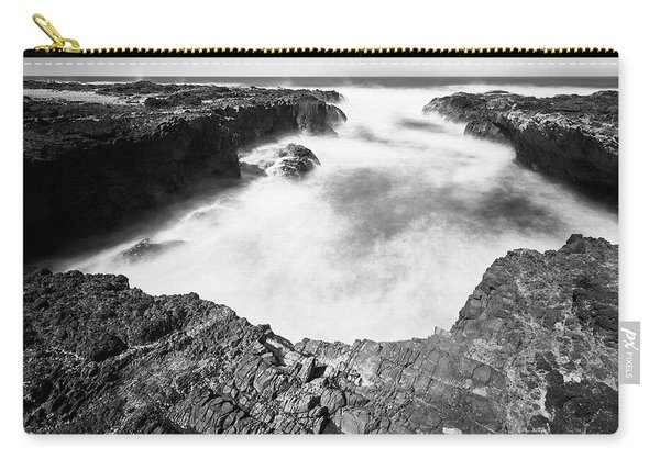 Carry-all Pouch featuring the photograph Cape Perpetua by Whitney Goodey