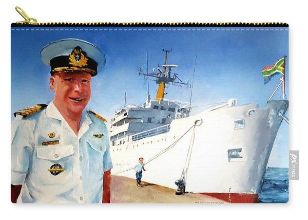 Capt Glen Hallett Carry-all Pouch
