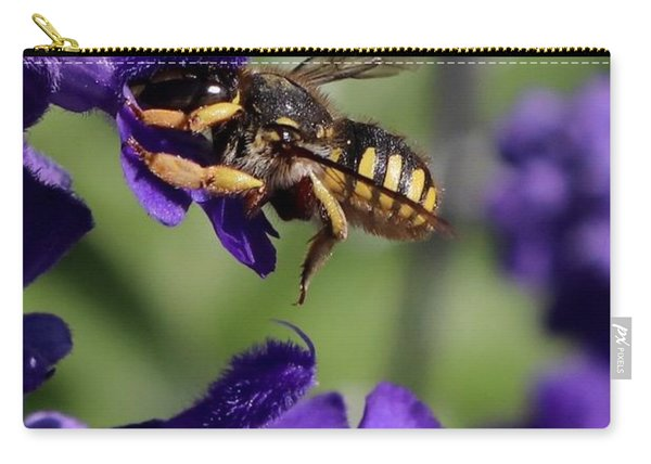 Carder Bee On Salvia Carry-all Pouch