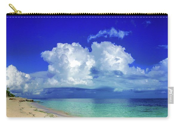 Caribbean Clouds Carry-all Pouch
