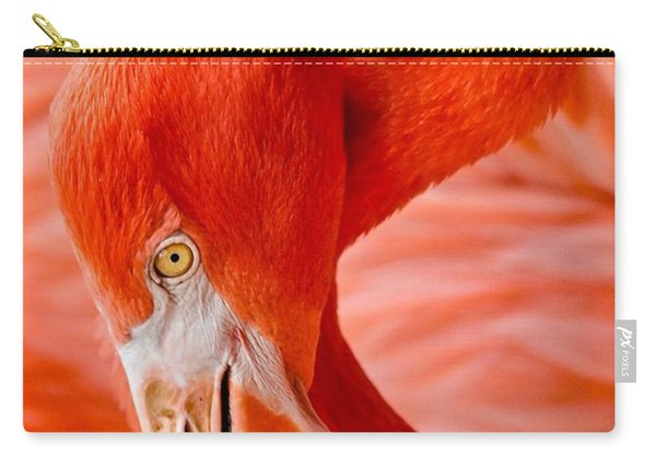 Caribbean Flamingo Carry-all Pouch