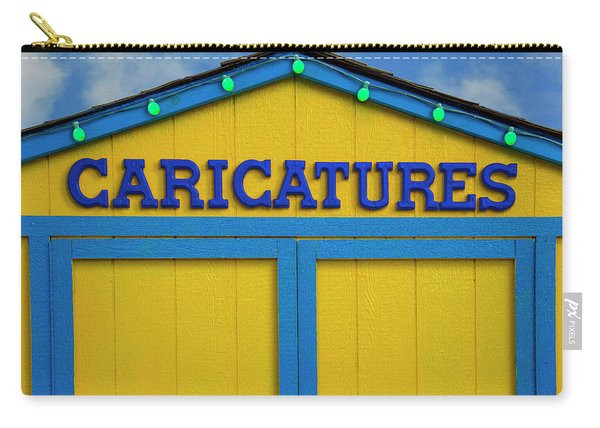 Caricatures Carry-all Pouch
