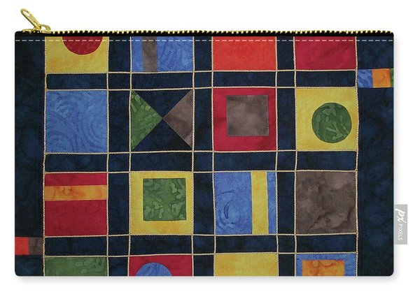 Carnival Of Colors Carry-all Pouch