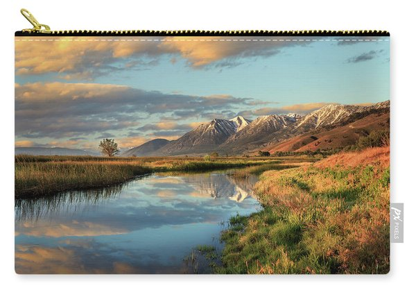 Carson Valley Sunrise Carry-all Pouch