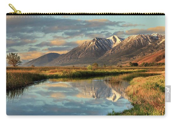 Carson Valley Sunrise Panorama Carry-all Pouch