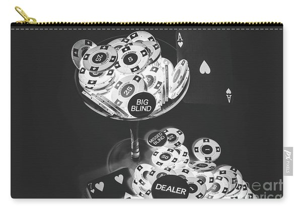 Casino Cocktail Carry-all Pouch