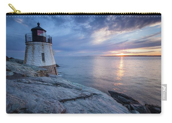 Castle Hill Light Sunset Carry-all Pouch