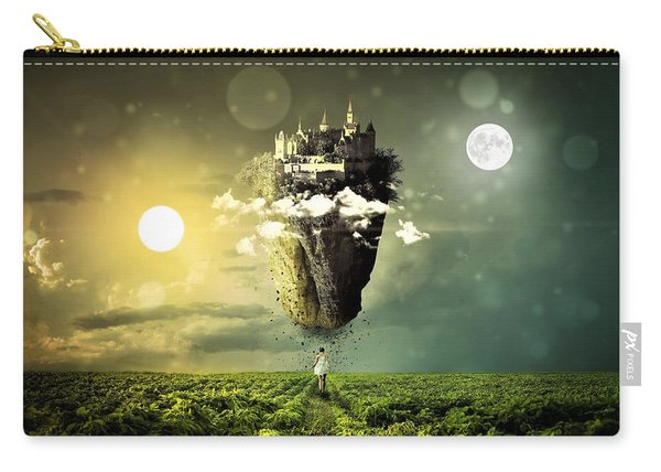 Castle In The Sky Carry-all Pouch