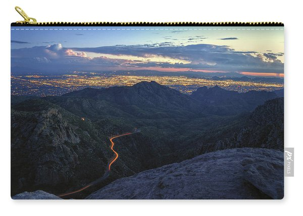 Catalina Highway And Tucson Carry-all Pouch
