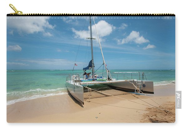 Catamaran On Waikiki Carry-all Pouch