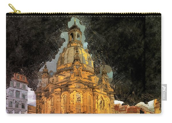 Cathedral, Dresden Carry-all Pouch