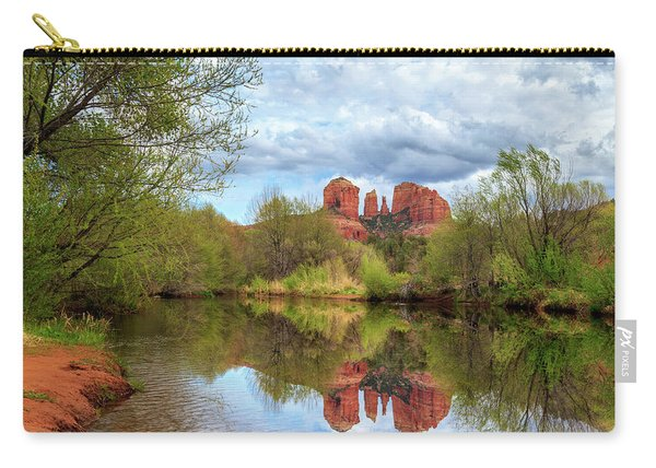 Cathedral Rock Reflection Carry-all Pouch