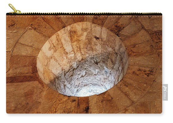 Carry-all Pouch featuring the photograph Cathedral Window by Tom Singleton