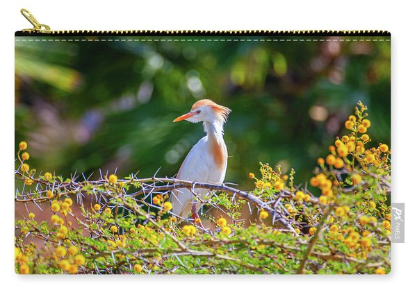 Cattle Egret Carry-all Pouch