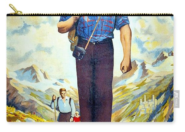 Caucasus Carry-all Pouch