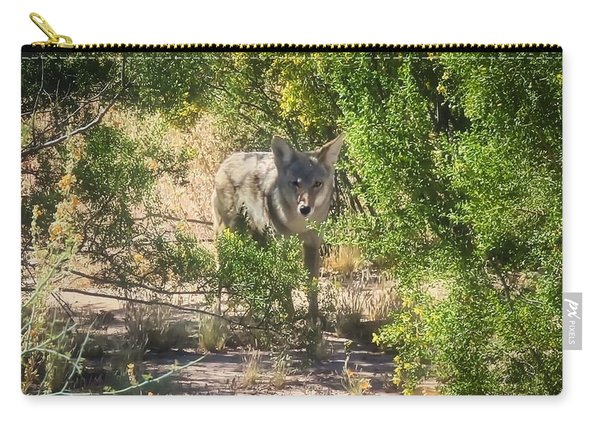 Cautious Coyote Carry-all Pouch