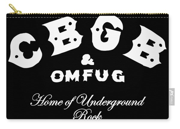 Cbgb Carry-all Pouch