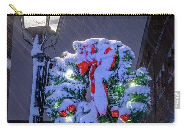 Carry-all Pouch featuring the photograph Celebrate The Season by Jeff Sinon