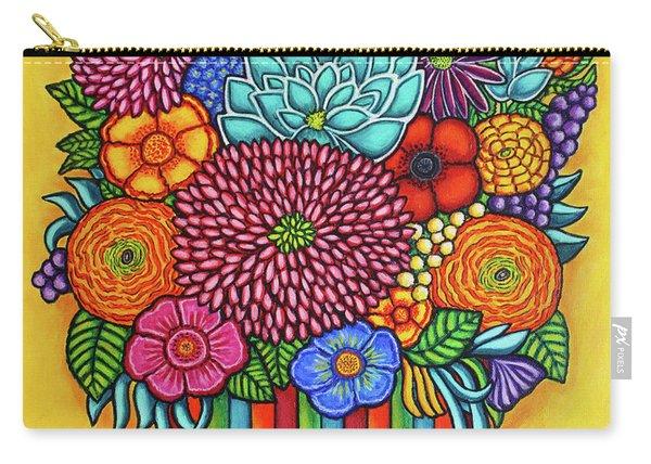 Celebration Bouquet Carry-all Pouch