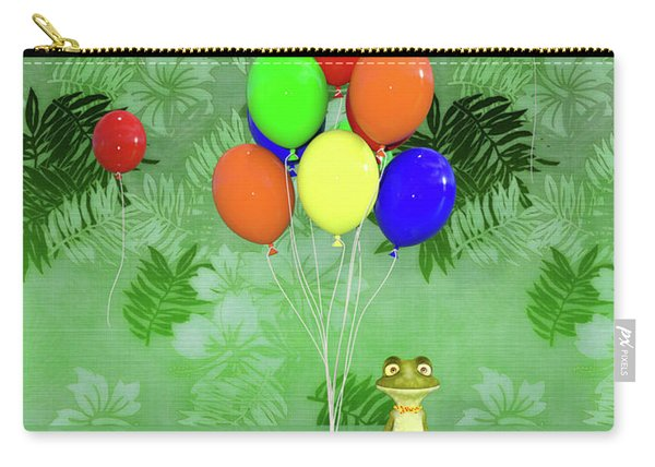 Celebration With Frog Carry-all Pouch