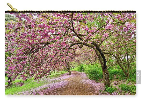 Central Park Cherry Blossoms Carry-all Pouch