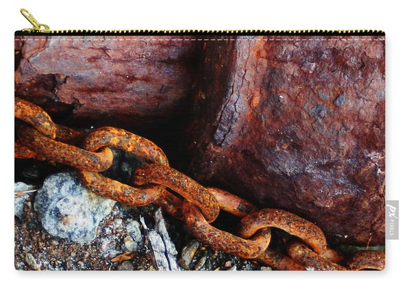 Chained To The Past Carry-all Pouch
