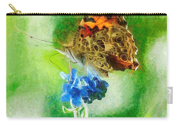 Chalky Painted Lady Butterfly Carry-all Pouch