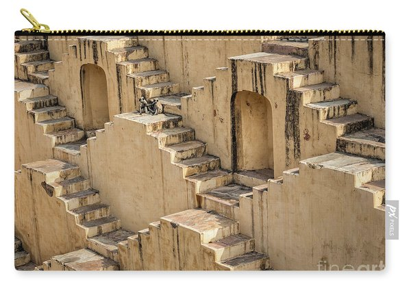 Chand Baori Carry-all Pouch