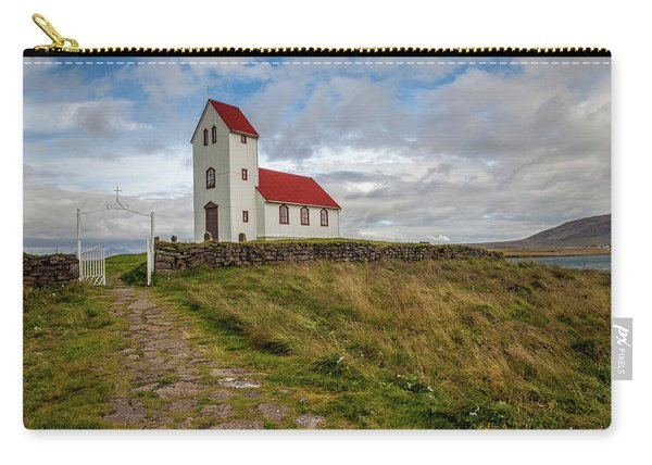 Chapel Of Iceland Carry-all Pouch