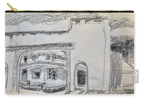 Charcoal Pencil Arch.jpg Carry-all Pouch