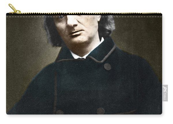 Charles Baudelaire, French Poet, 1865 Carry-all Pouch