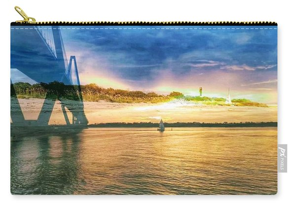 Charleston Harbor Sc Carry-all Pouch