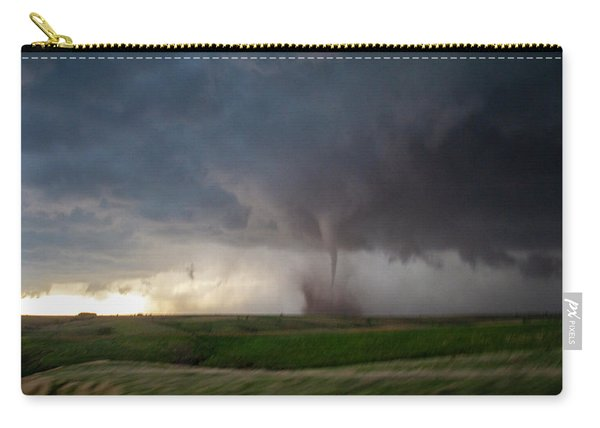 Carry-all Pouch featuring the photograph Chasing Naders In Nebraska 026 by Dale Kaminski