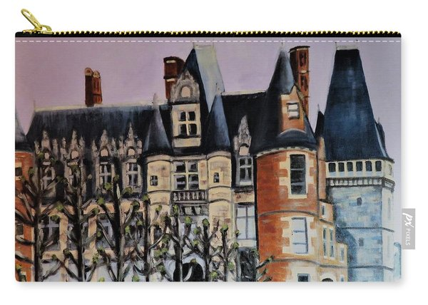 Chateau De Maintenon Carry-all Pouch