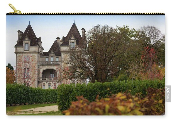 Chateau, Near Beynac, France Carry-all Pouch