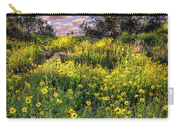 Chatsworth Wildflower Bloom Carry-all Pouch