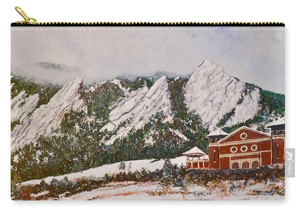 Chautauqua - Winter, Late Afternoon Carry-all Pouch