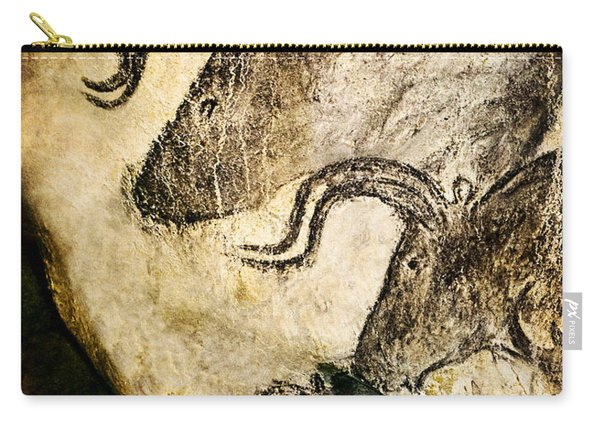 Chauvet - Three Aurochs Carry-all Pouch