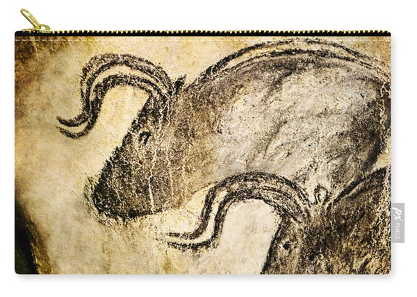 Chauvet - Three Aurochs Carry-all Pouch