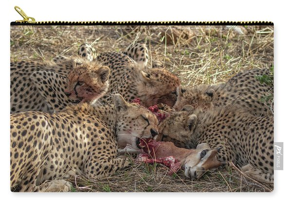 Cheetahs And Grant's Gazelle Carry-all Pouch
