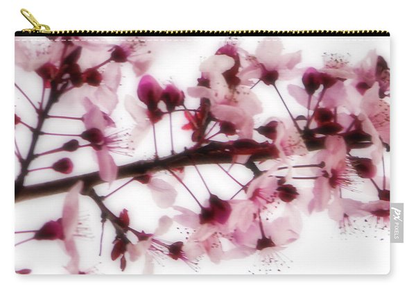 Cherry Triptych Center Panel Carry-all Pouch