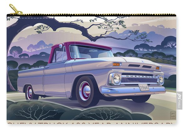 Chevy Truck Centennial 1964 Shortbed Custom Half Ton Carry-all Pouch