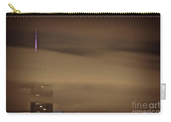 Chicago In Fog Carry-all Pouch