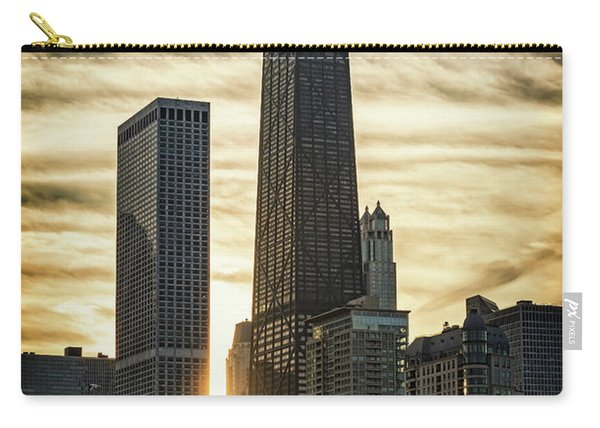 Chicago Sunset Carry-all Pouch