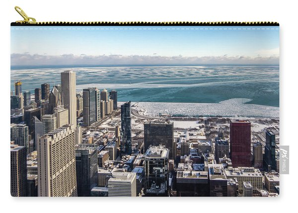 Chicago View Angled Carry-all Pouch