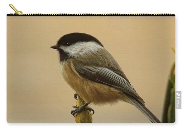 Chickadee On Rhododendron Carry-all Pouch