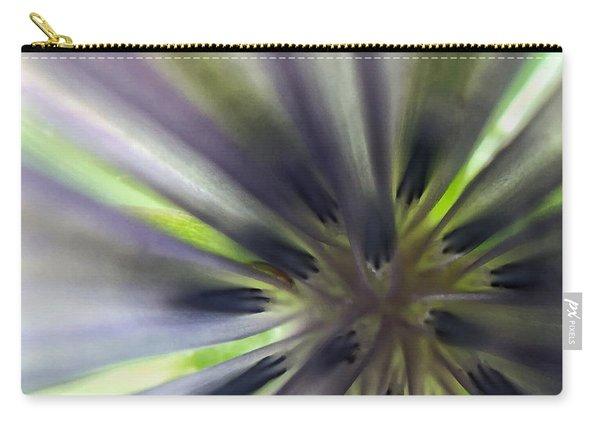 Chicory Flower Closeup Carry-all Pouch