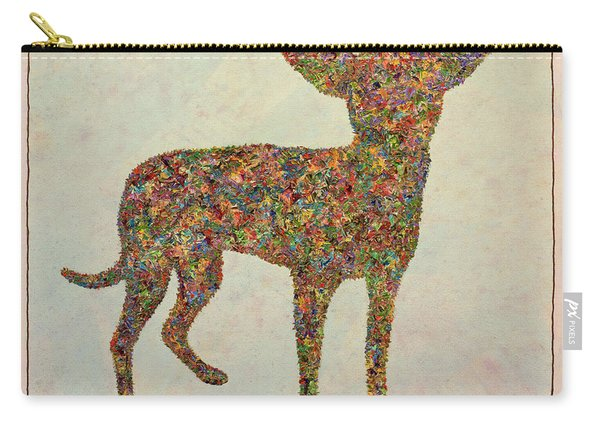 Chihuahua-shape Carry-all Pouch
