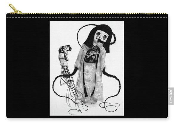 Chikako The Doll Girl Of Kanagawa - Artwork Carry-all Pouch