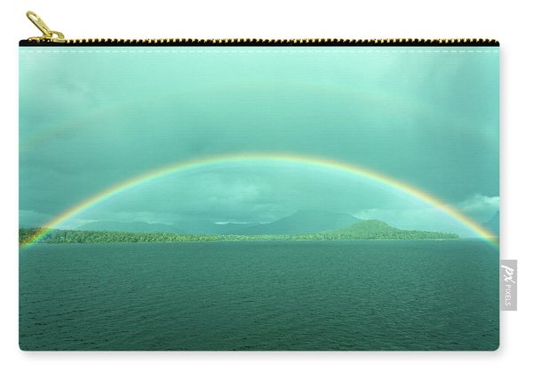 Chilean Fjord Rainbow Carry-all Pouch